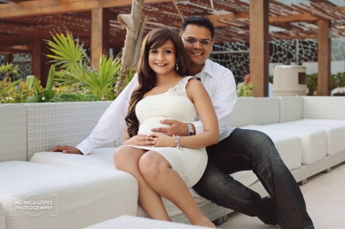 Cancun Portrait Photography at Secrets The Vine - Amit + Kinjal