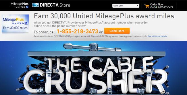 United 30000 Offer