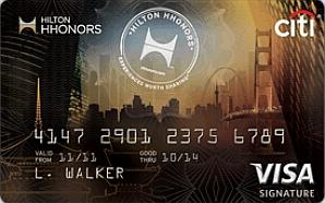 Citi®+Hilton+HHonors™+Visa+Signature®+Card