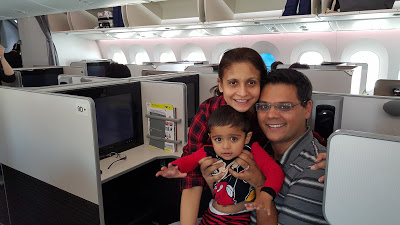 Business Class Travel- Secret of a Happy Family