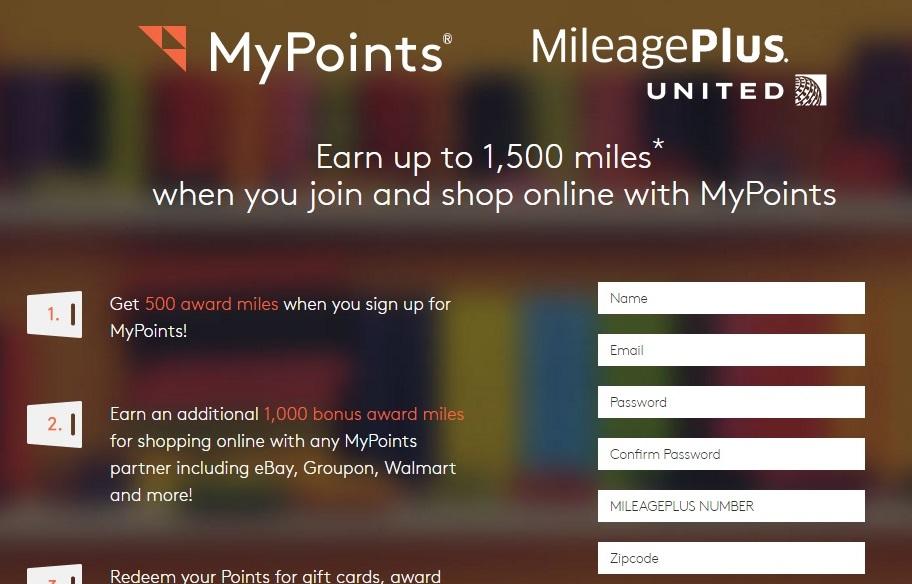 Mypoints promo